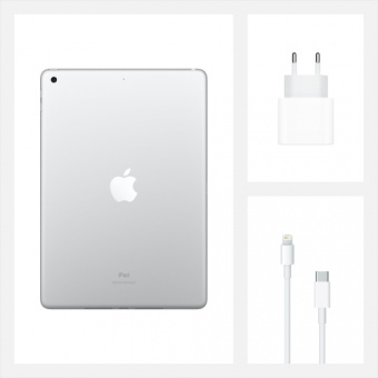 Планшет Apple iPad 10.2'' 128GB Wi-Fi+Cellular Space Grey (MW6E2RU/A)